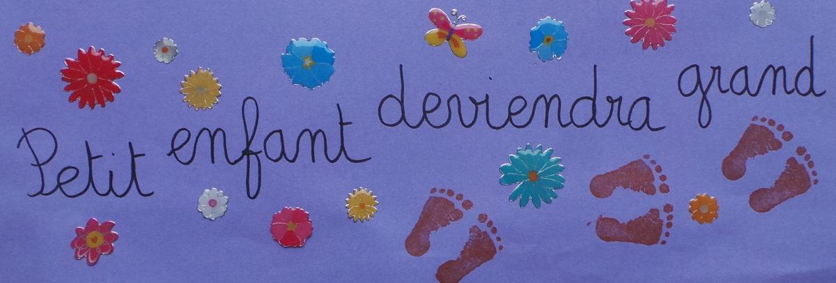 PETIT ENFANT DEVIENDRA GRAND